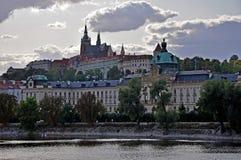 Prag-Schlösser Stockfotografie