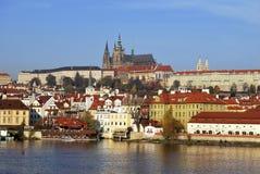 Prag-Schloss. Lizenzfreie Stockfotografie