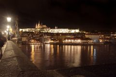 Prag-Schloss Stockfotografie