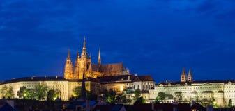 Prag-Schloss Stockfotos