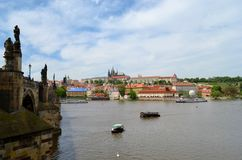 Prag-Schloss Stockfotos