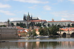 Prag-Schloss in der Tschechischen Republik stockfotos