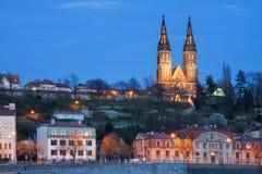 Prag-Schloss-Skyline Lizenzfreies Stockfoto