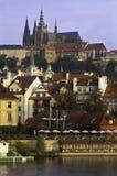 Prag-Schlossansicht Stockfoto