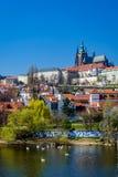 Prag-Schlossporträt Stockfotografie