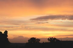 Prag-Sonnenuntergang, 2017 stockfotografie