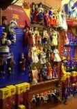 Prag-Spielwarenshop Stockbilder