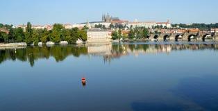 Prag-Stadt Stockbild