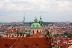 Prag-Stadtbild Lizenzfreies Stockfoto