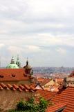 Prag-Stadtbild Stockfotografie