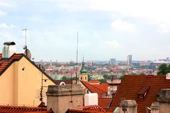 Prag-Stadtbild Lizenzfreie Stockbilder