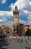 Prag-Stadtplatz Lizenzfreies Stockbild