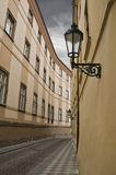 Prag-Straße Stockbild
