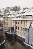 Prag-Straße Stockfotos