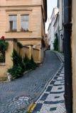 Prag-Straßen Stockbild