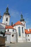 prag Strahov Kloster Lizenzfreies Stockbild