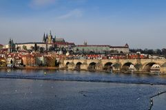 Prag am Tag Lizenzfreies Stockbild