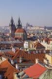 Prag, Tschechische Republik stockfotos
