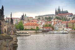 Prag, Tschechische Republik - 24. April 2018: Prag ist das Kapital O stockfoto
