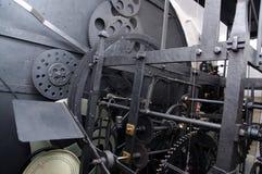 Prag, Tschechische Republik, astrnonomical Uhr Orloj innerhalb des Mechanismus Lizenzfreie Stockbilder