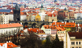 Prag, Tschechische Republik, touristisches Konzept, reisend in Europa, morgens lizenzfreie stockfotografie