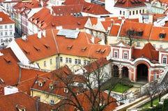 Prag, Tschechische Republik, touristisches Konzept, reisend in Europa, morgens lizenzfreie stockfotos
