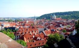 Prag, tschechischer Repräsentant: Ansicht Mala Strana des Bezirkes Stockfotos