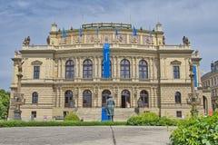 Prag-tschechisches philharmonisches lizenzfreies stockbild