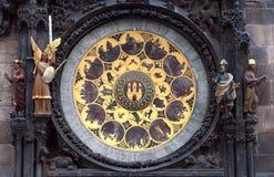 Prag-Uhr Lizenzfreie Stockfotografie
