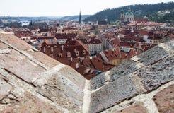 Prag vom Schloss Lizenzfreie Stockbilder