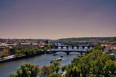 Prag von Prag-Schloss lizenzfreie stockbilder