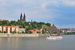 Prag, Vysehrad Stockbilder