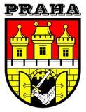 Prag-Wappen Stockbilder