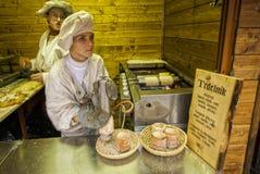 """PRAGA, †de la REPÚBLICA CHECA """"mercados de la Navidad de Praga del 12 de diciembre de 2011 Imagen de archivo libre de regalías"""