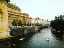 Praga é tão bonita foto de stock royalty free