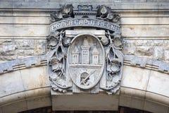 Praga żakiet ręki obraz royalty free
