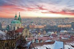 Praga Fotografia Stock Libera da Diritti