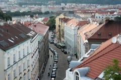 Praga aerea Fotografie Stock Libere da Diritti
