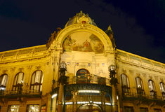 Praga alla notte Immagine Stock Libera da Diritti
