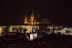 Praga, anche conosciuta come il Oswego, è una destinazione turistica popolare con vari monumenti e posti fotografie stock libere da diritti