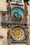 Praga Astronomiczny Orloj w starym miasteczku Praga lub zegar obraz stock