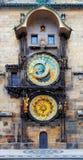 Praga Astronomiczny zegar w Starym miasteczku Praga (Orloj) Obrazy Stock