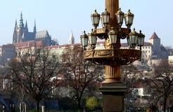 Praga in autunno Fotografie Stock Libere da Diritti