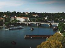 praga Bella vista di Praga Immagine Stock Libera da Diritti