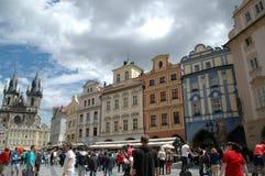 Praga céntrica fotografía de archivo