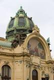 Praga. Camera municipale (Smetana Corridoio) Fotografia Stock Libera da Diritti