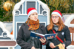 praga Canciones de la Navidad Imagen de archivo libre de regalías