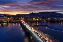 Praga, capital de República Checa Imagem de Stock