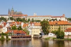 Praga - castello hradcany Fotografia Stock