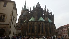 Praga - castillo Imagenes de archivo